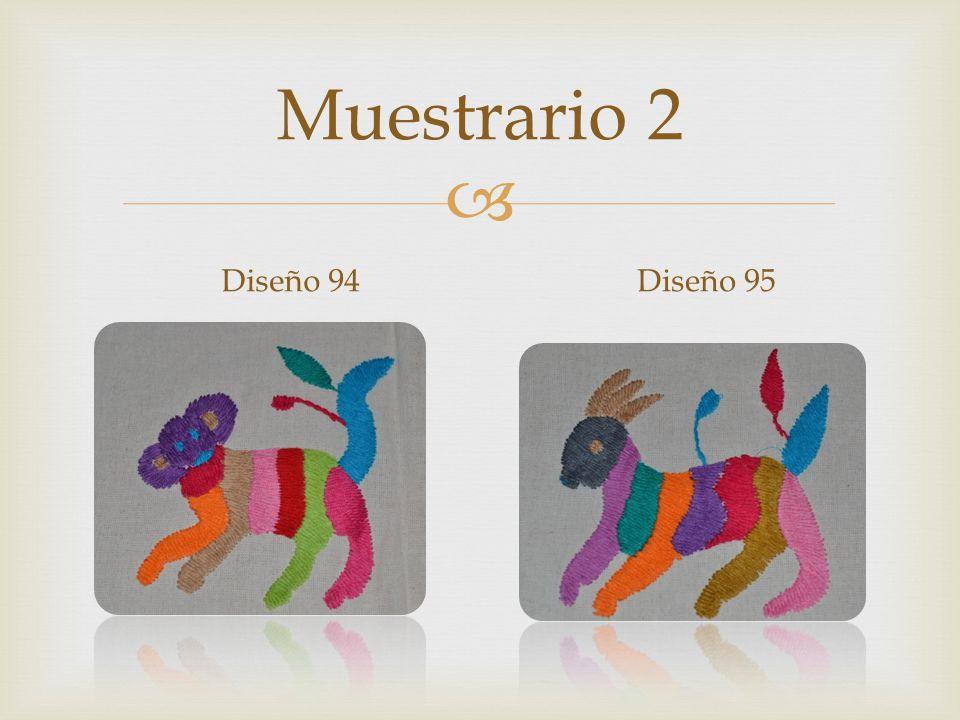 Muestrario 2 Diseño 94Diseño 95
