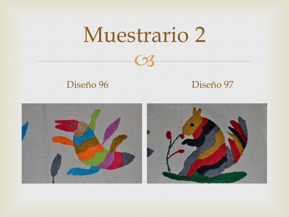 Muestrario 2 Diseño 96Diseño 97