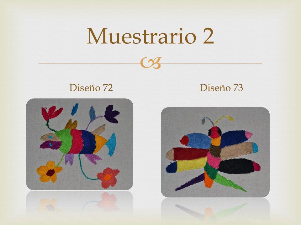 Muestrario 2 Diseño 72Diseño 73