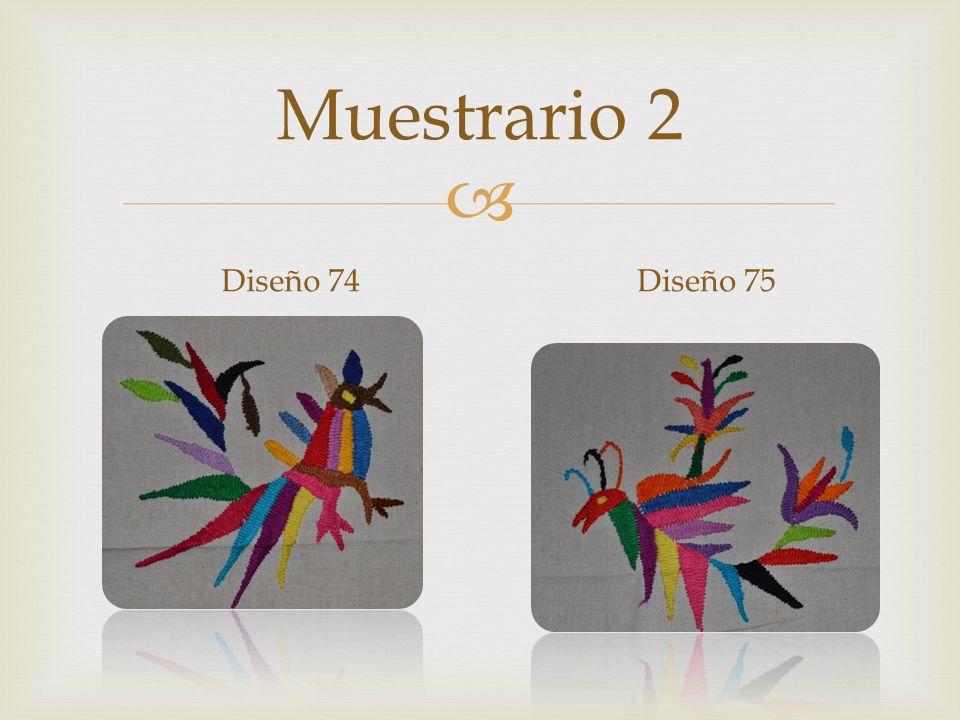 Muestrario 2 Diseño 74Diseño 75