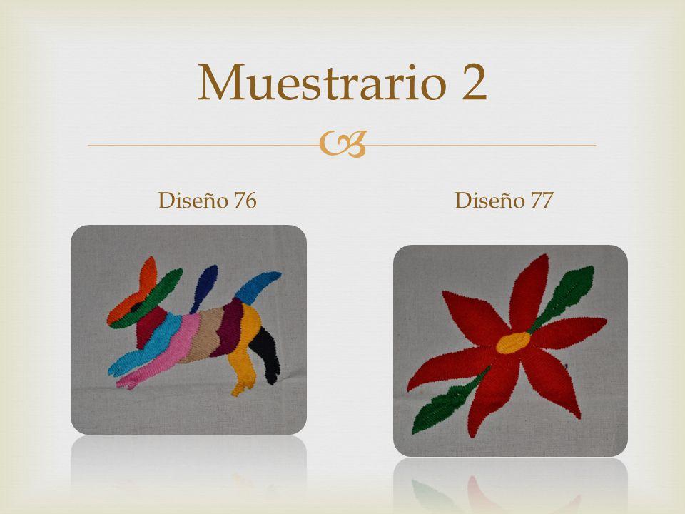 Muestrario 2 Diseño 76Diseño 77