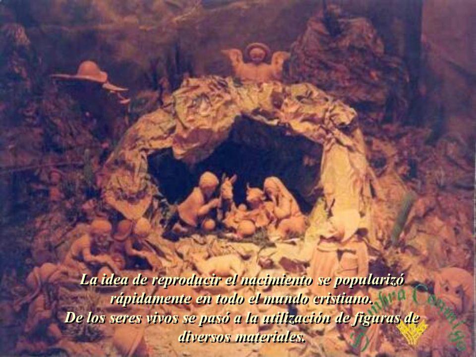 Nueve días antes del 25 de diciembre convocó a todo el pueblo para celebrar una misa en presencia de la representación del nacimiento predicando sobre