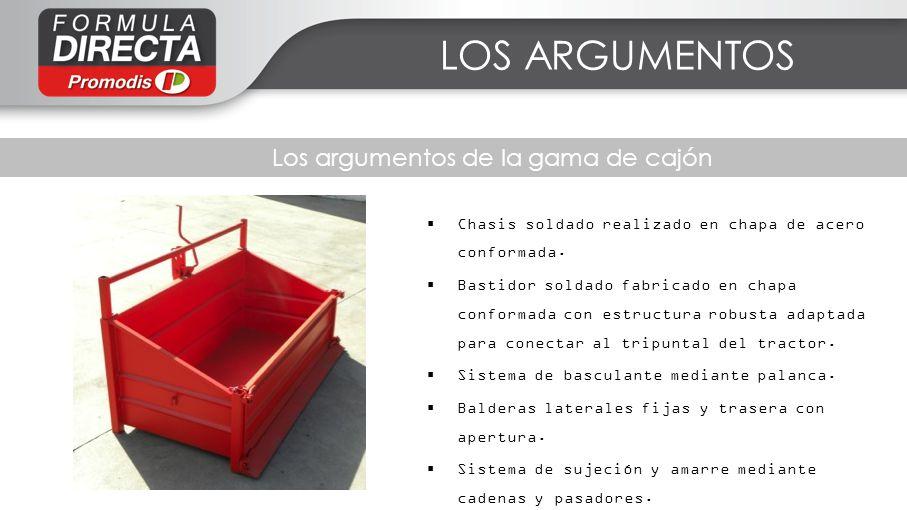 Los argumentos de la gama de cajón Chasis soldado realizado en chapa de acero conformada. Bastidor soldado fabricado en chapa conformada con estructur