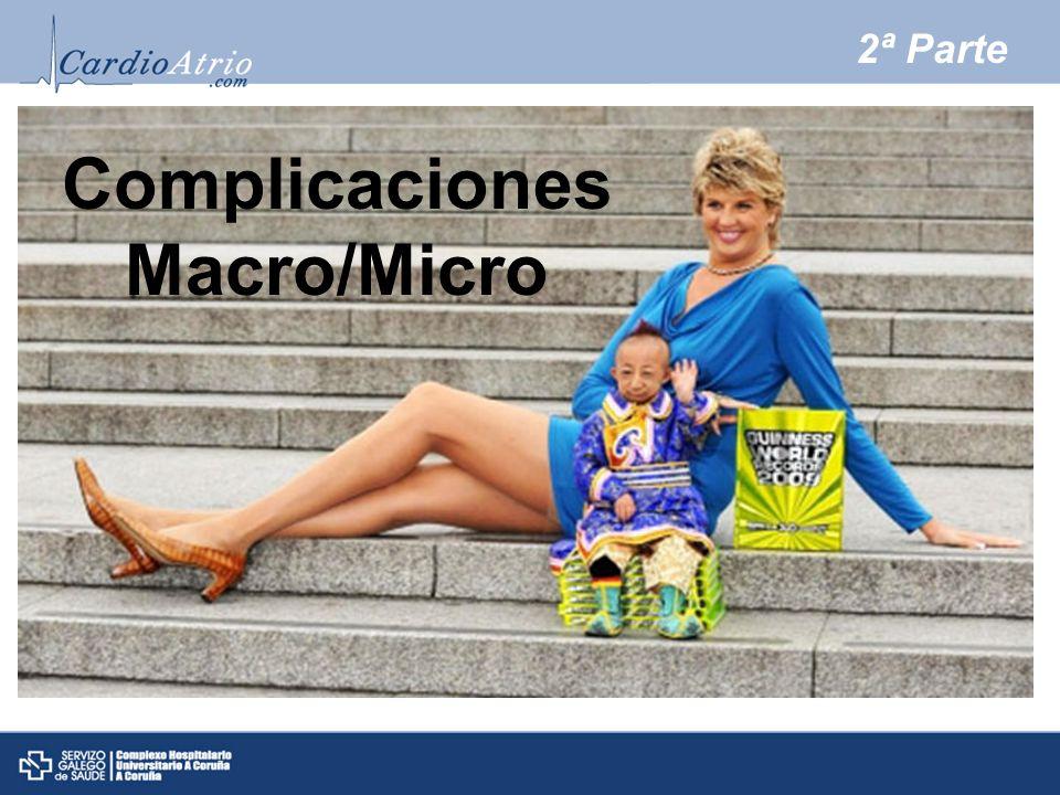 2ª Parte Complicaciones Macro/Micro