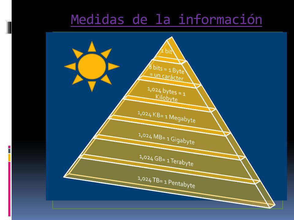 Medidas de la información