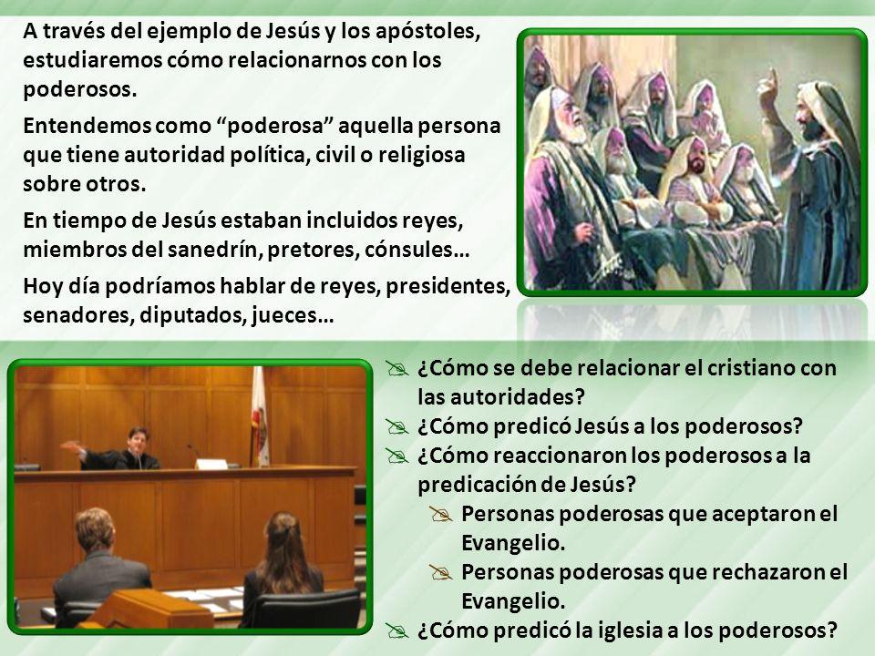 ¿Cómo se debe relacionar el cristiano con las autoridades.