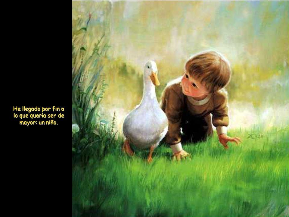 Quien no aprende de los niños, no aprenderá nada de los mayores
