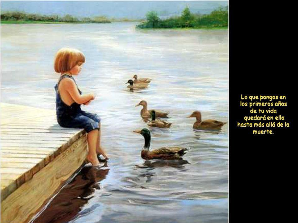 Los niños adivinan qué personas los aman. Es un don natural que con el tiempo se pierde
