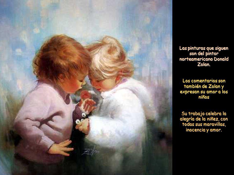 Las pinturas que siguen son del pintor norteamericano Donald Zolan.