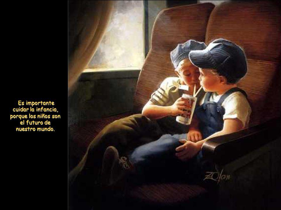 Donde hay niños, existe la Edad de Oro.