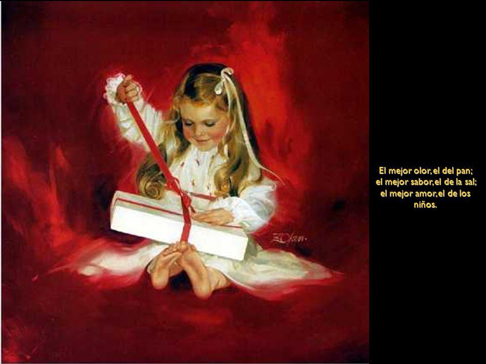 Las pinturas que siguen son del pintor norteamericano Donald Zolan. Los comentarios son también de Zolan y expresan su amor a los niños Su trabajo cel