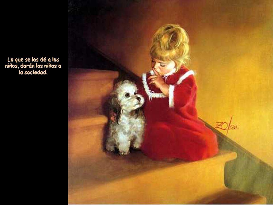 El medio mejor para hacer buenos a los niños es hacerlos felices. es hacerlos felices.