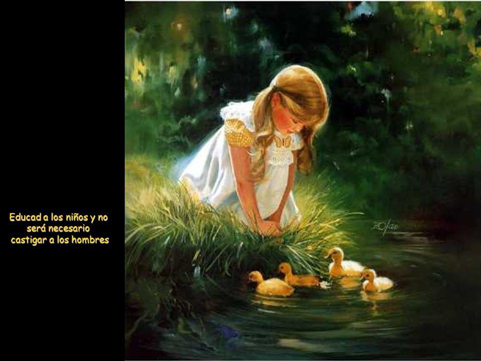 No todo está perdido cuando puedes ver en el rostro de un niño su magnífica inocencia.