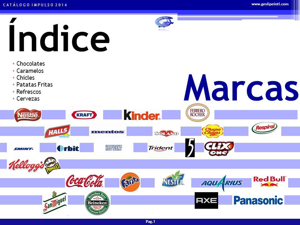 C A T Á L O G O I M P U L S O 2 0 1 4 Gama de productos y tarifas CHOCOLATES KIT KAT Ref - 500001 PRECIO DISPLAYUNID.