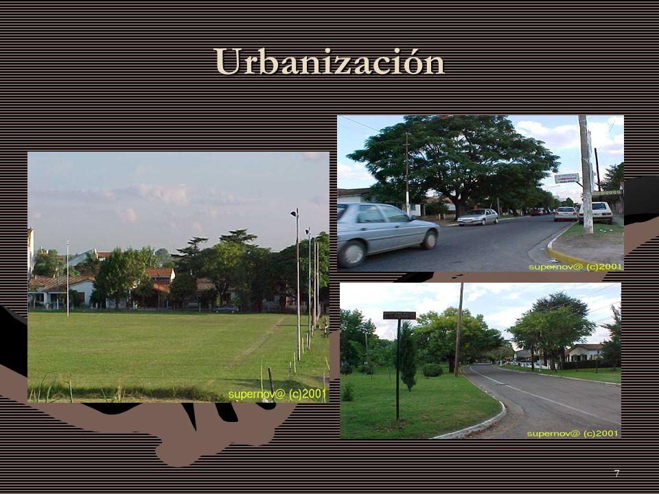 7 Urbanización
