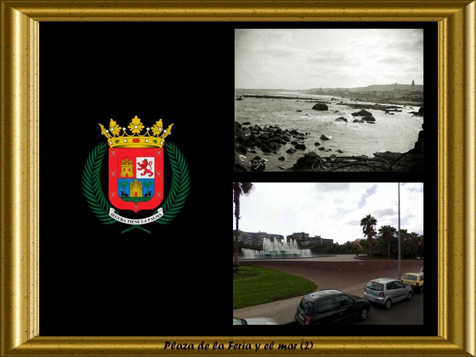 Plaza de la Feria y el mar