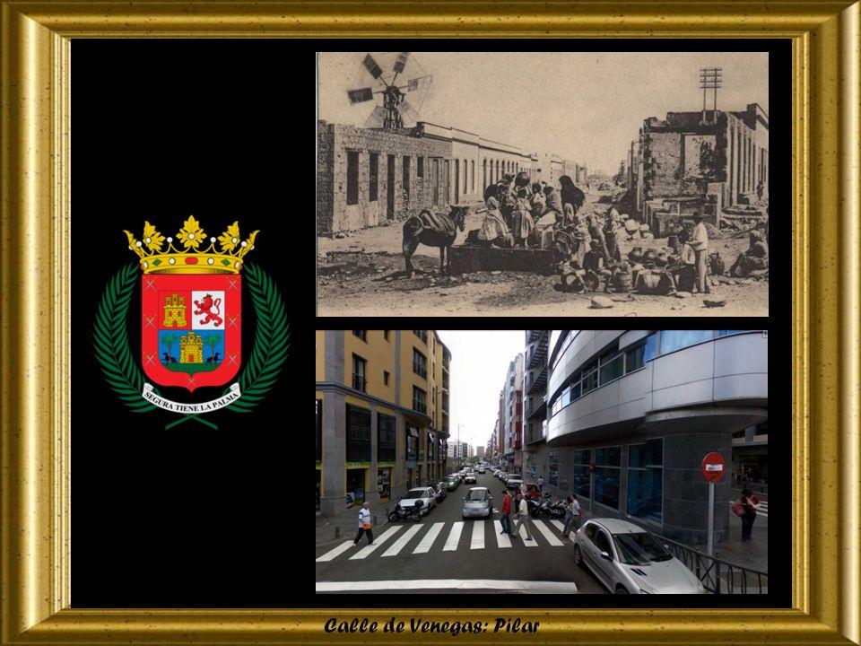 Calle de León y Castillo: Frontón
