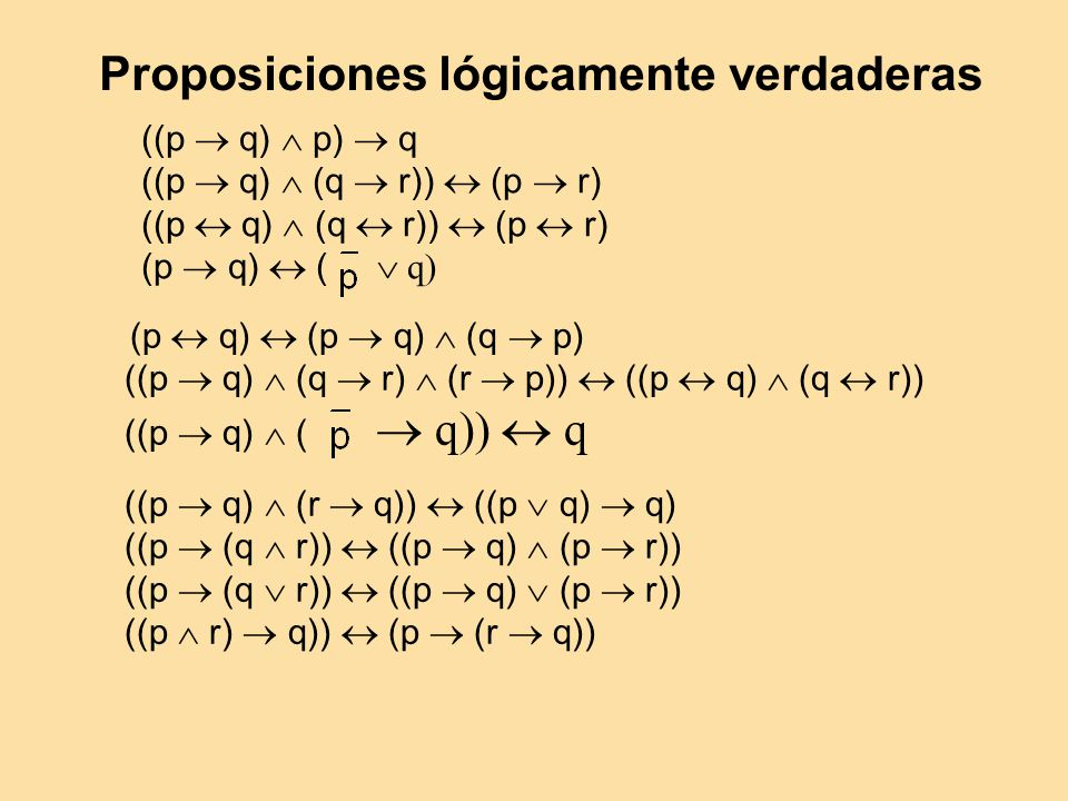 ((p q) p) q ((p q) (q r)) (p r) (p q) ( q) (p q) (p q) (q p) ((p q) (q r) (r p)) ((p q) (q r)) ((p q) ( q)) q ((p q) (r q)) ((p q) q) ((p (q r)) ((p q