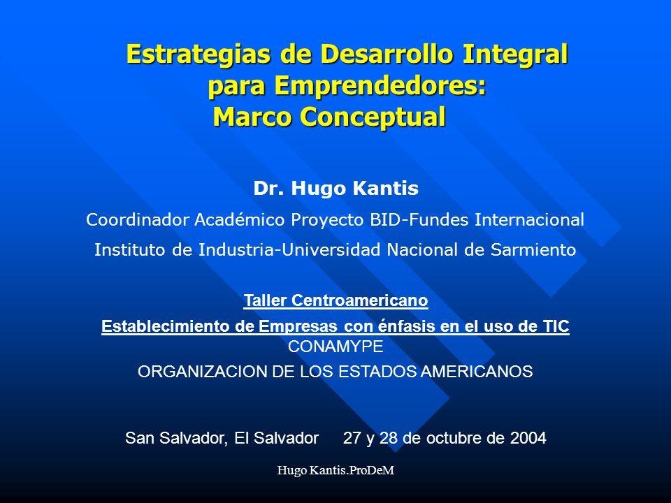 Hugo Kantis.ProDeM Dr.