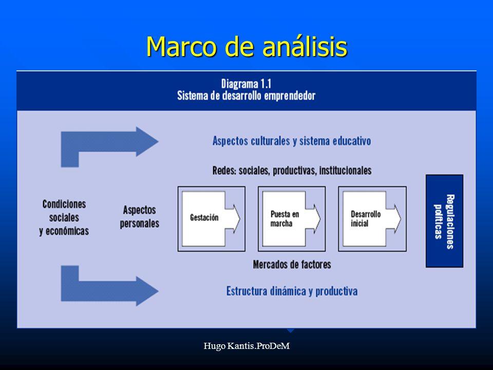 Hugo Kantis.ProDeM Marco de análisis