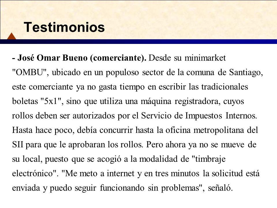 Testimonios - José Omar Bueno (comerciante). Desde su minimarket