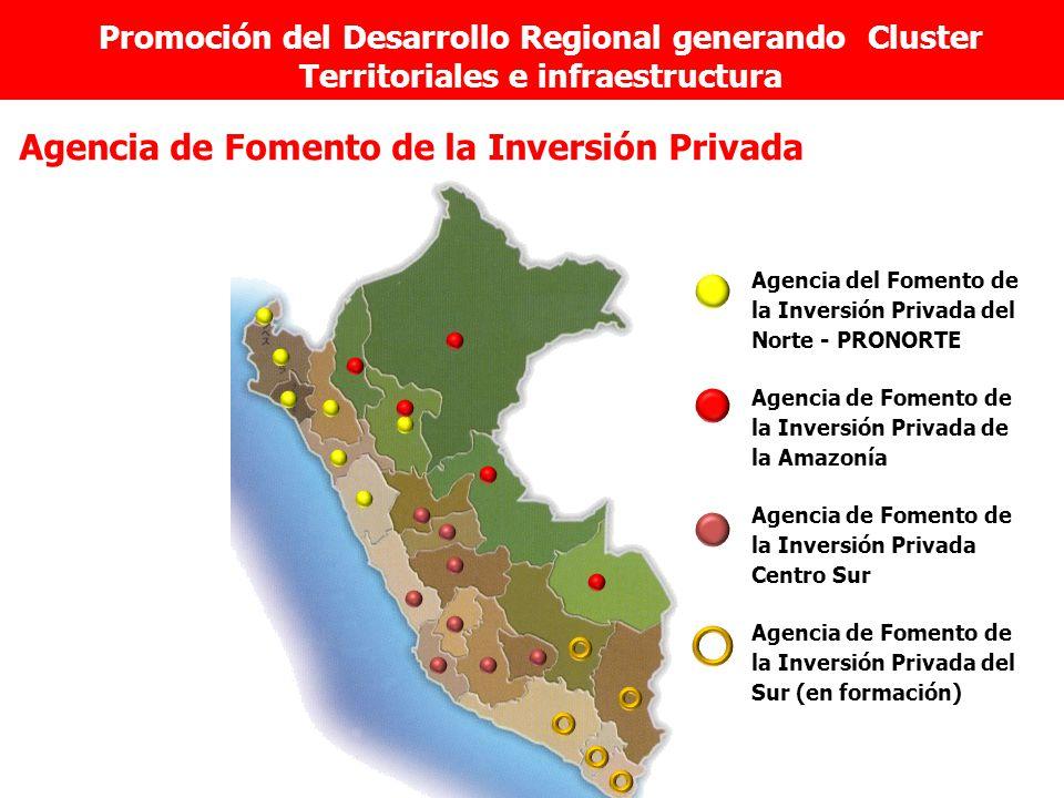 Agencia de Fomento de la Inversión Privada Agencia del Fomento de la Inversión Privada del Norte - PRONORTE Agencia de Fomento de la Inversión Privada