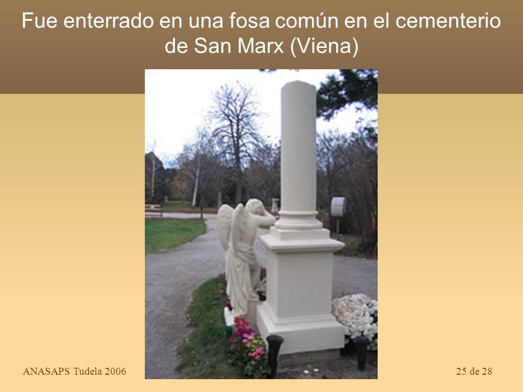 ANASAPS Tudela 200624 de 28 Último retrato conocido. Tenía 34 años. Moriría al año siguiente