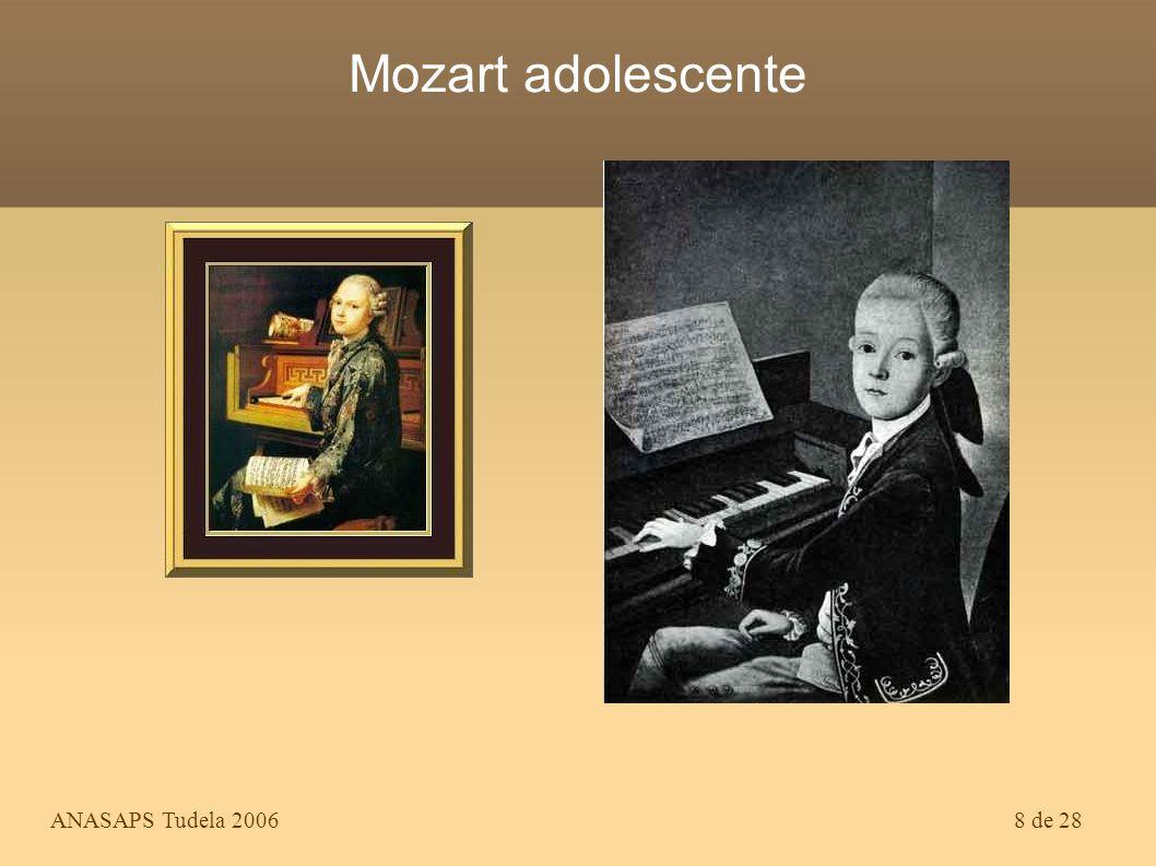 ANASAPS Tudela 200628 de 28 El genio más prodigioso lo ha elevado sobre todos los maestros, en todas las artes y en todos los tiempos.