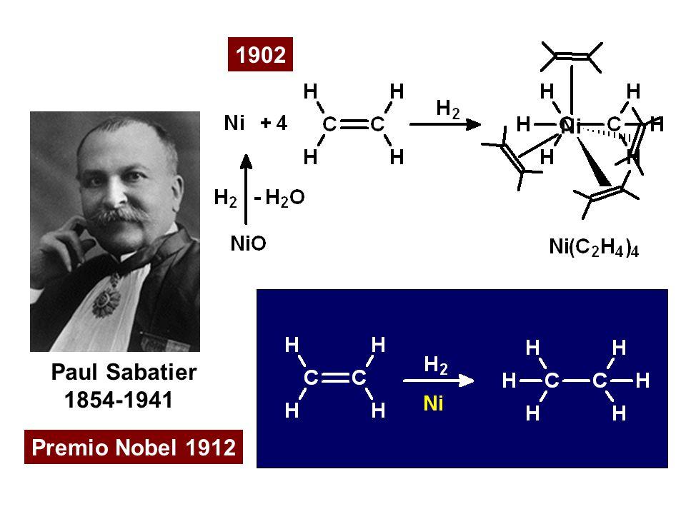 Paul Sabatier 1854-1941 Premio Nobel 1912 1902