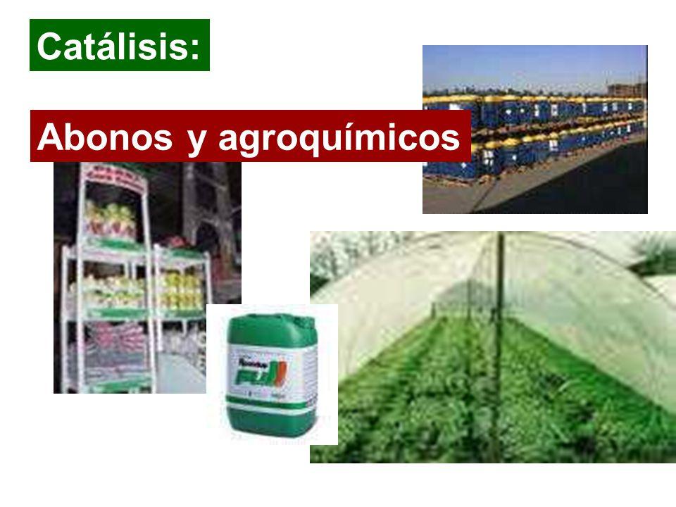 Abonos y agroquímicos Catálisis: