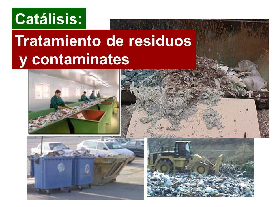 Tratamiento de residuos y contaminates