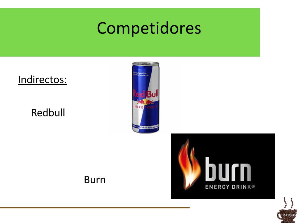 Competidores Indirectos: Redbull Burn