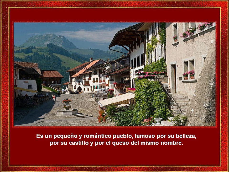 Gruyéres es uno de los lugares más populares de Suiza, digno de verse.
