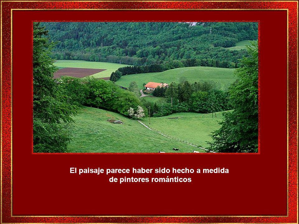 Gruyéres con su estilo medieval, encierra muchos cuentos y leyendas