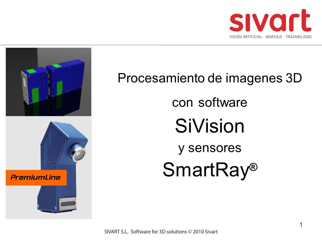 1 Procesamiento de imagenes 3D con software SiVision y sensores SmartRay ®