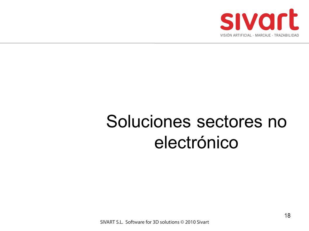 18 Soluciones sectores no electrónico