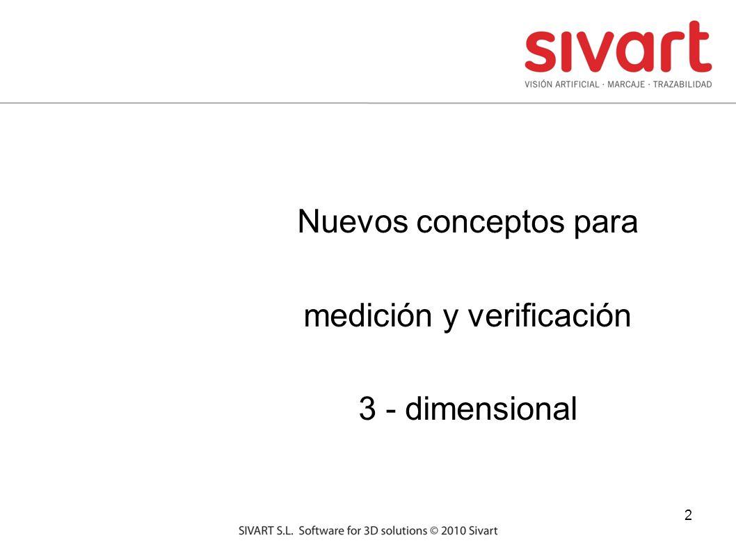 2 Nuevos conceptos para medición y verificación 3 - dimensional