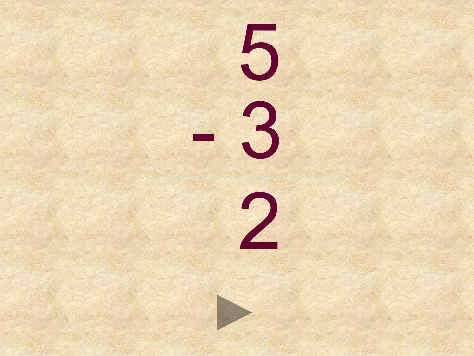 5 - 3 _______________________________ _ 2813