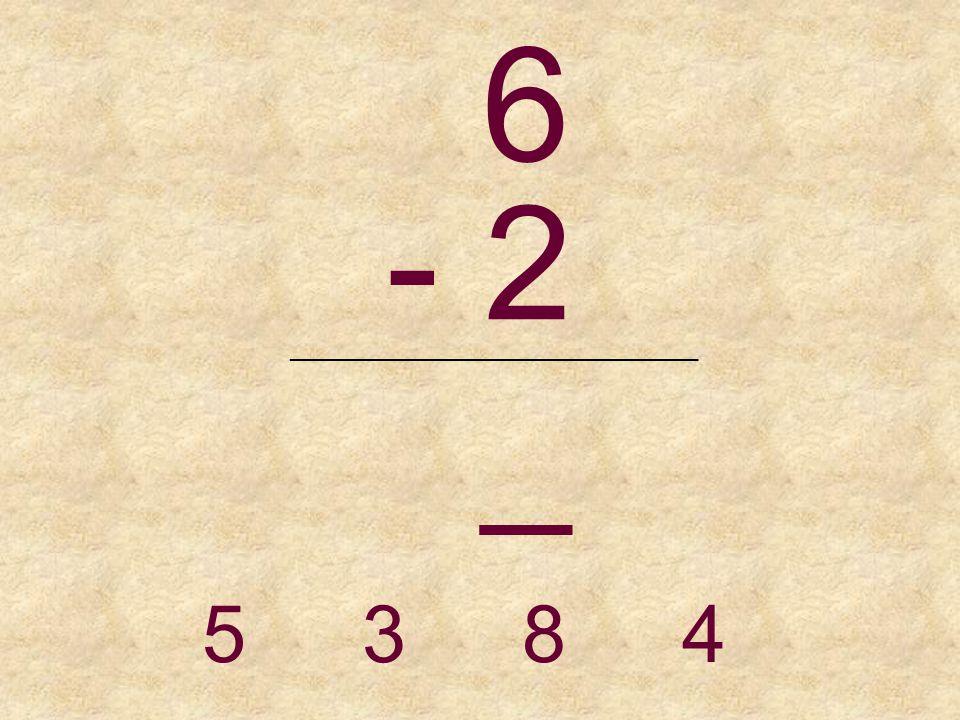 5 - 4 _______________________________ 1