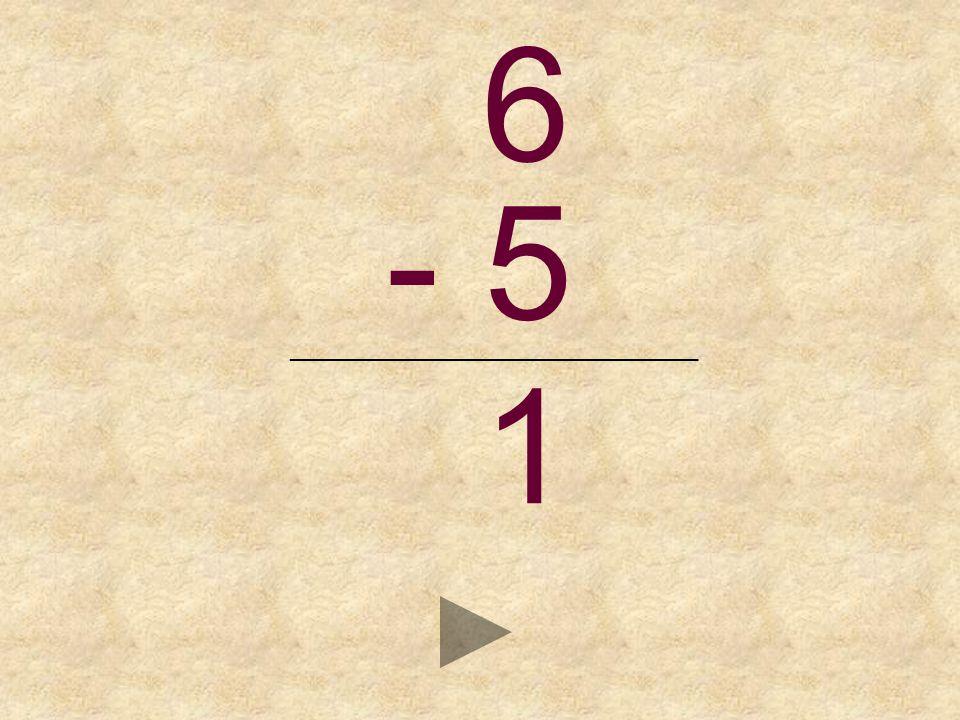 6 - 5 _______________________________ _ 1324