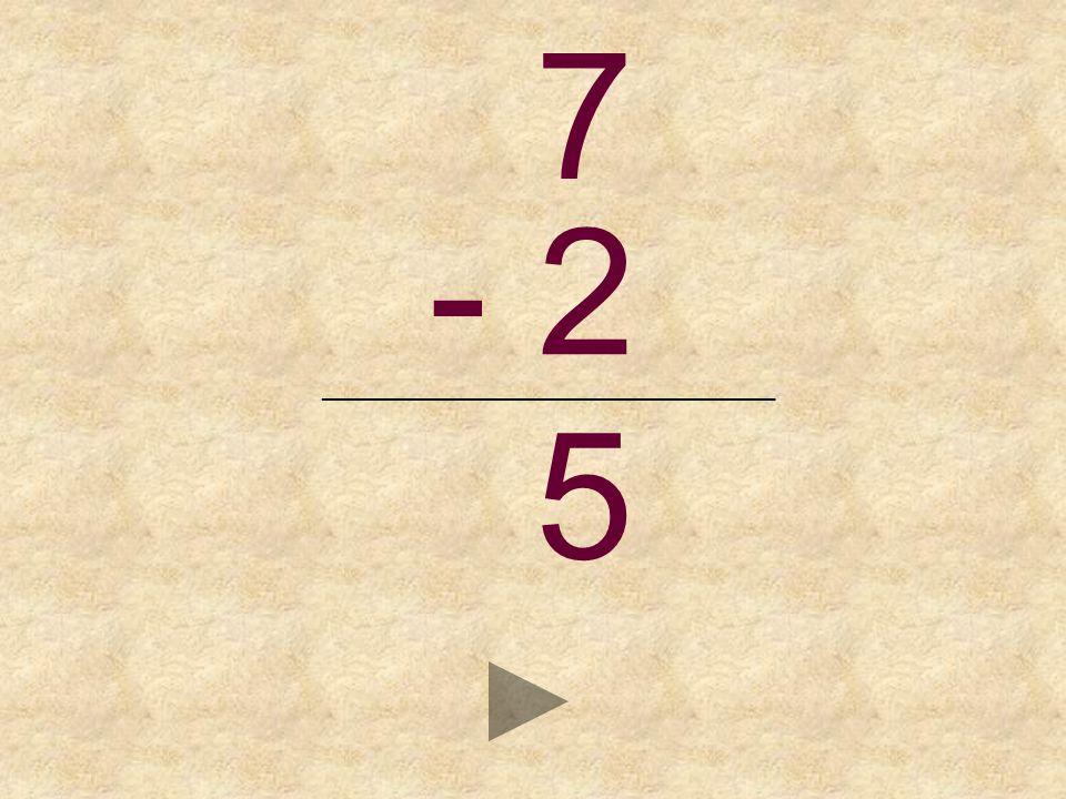7 - 2 _______________________________ _ 6495