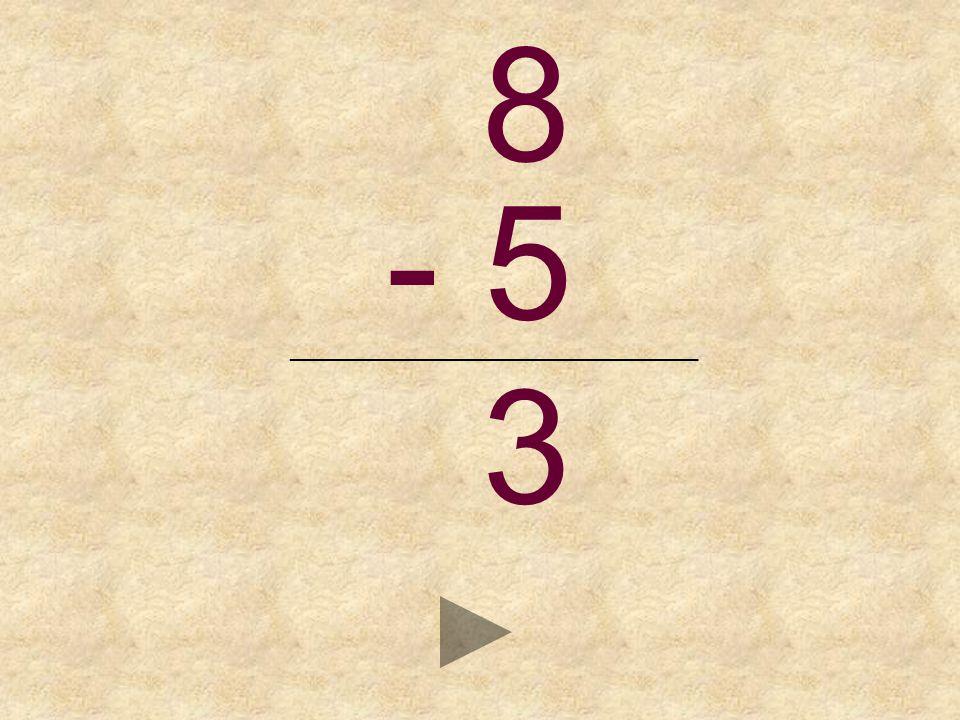 8 - 5 _______________________________ _ 2435