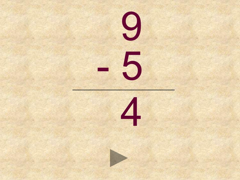9 - 5 _______________________________ _ 7465