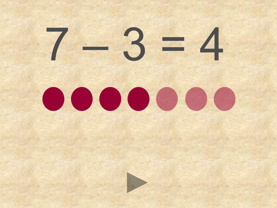 7 – 3 = 564