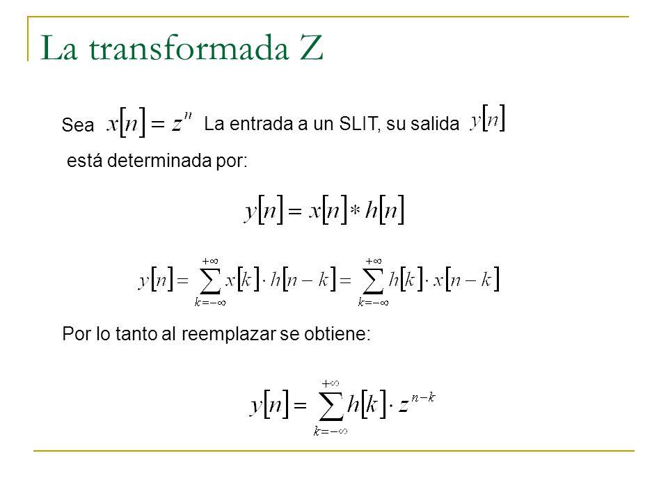 Transformada Z inversa Se acuerdan del teorema de los residuos???