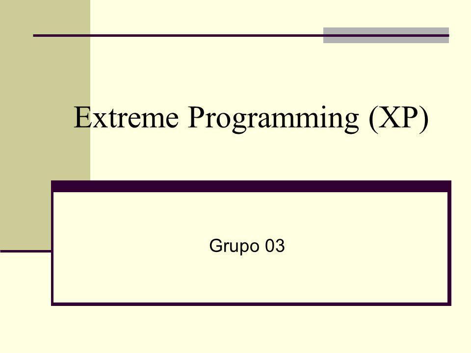Extreme Programming (XP) Grupo 03