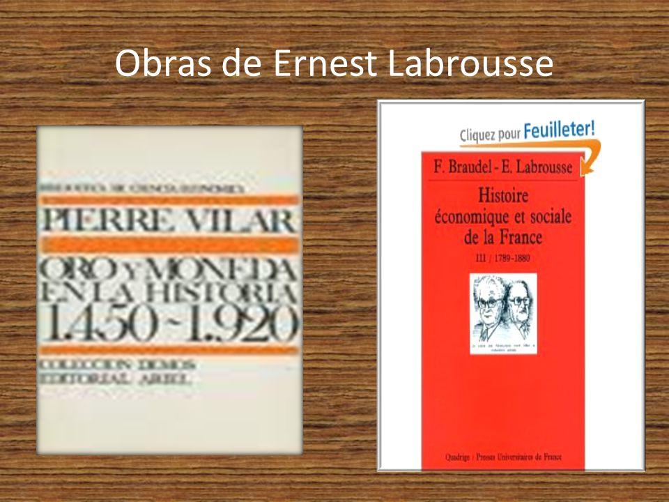 Obras de Ernest Labrousse