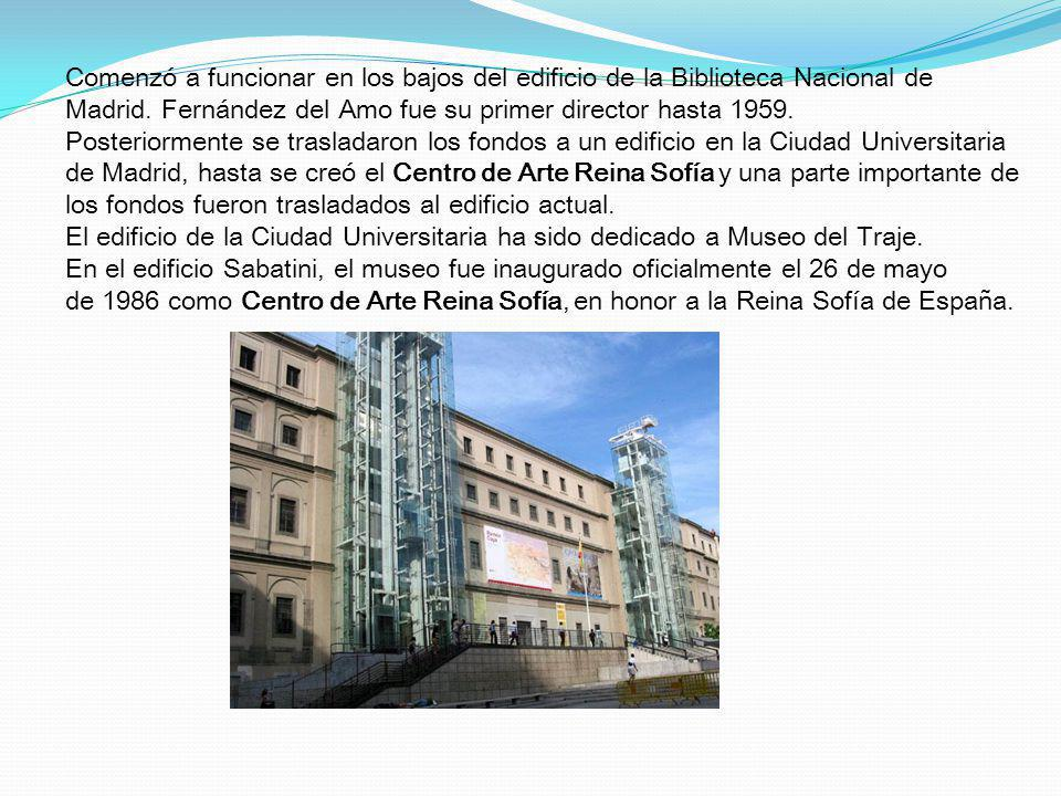 Comenzó a funcionar en los bajos del edificio de la Biblioteca Nacional de Madrid.