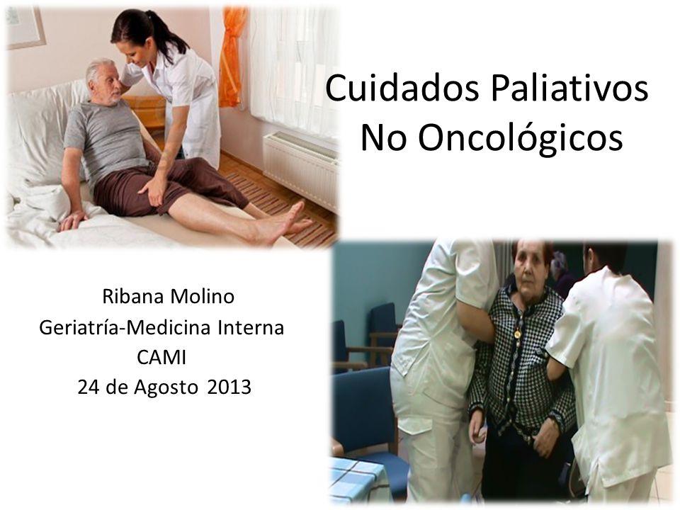 Pregunta 1: Son enfermedades que necesitan cuidados paliativos 1.Insuficiencia cardiaca NYHA IV 2.
