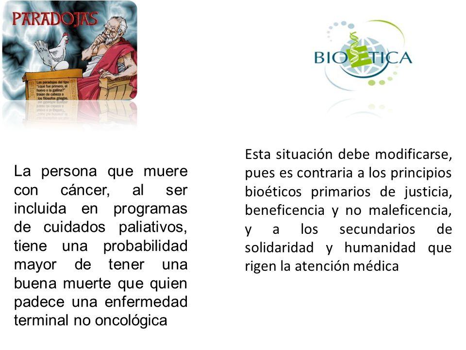 Objetivos Reconocer las enfermedades crónicas no oncológicas de pronóstico fatal.